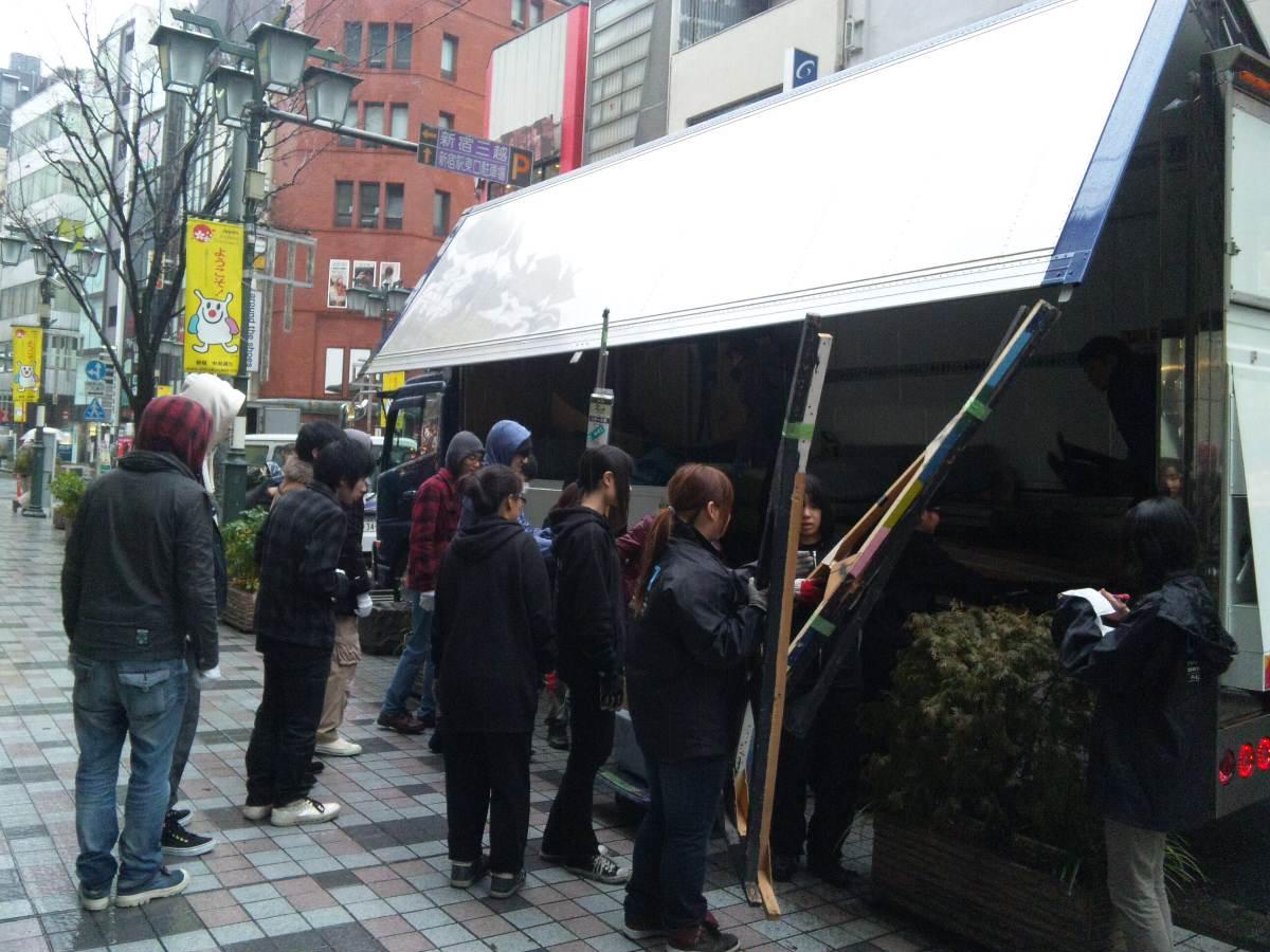 【We are DA TOKYO!】アクターズ2年生、いよいよ小屋入りっ★